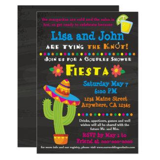 Couples Bridal Shower Fiesta Invitation