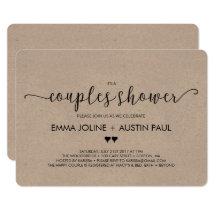 Attirant Couples Shower Invitations U0026 Announcements | Zazzle