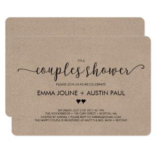 Couple Wedding Shower Invitations Announcements Zazzle