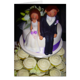 couples cupcake card