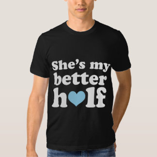 Couples Funny Other Half His Shirt