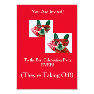 COUPLES GOING AWAY SURPRISE PARTY INVITE! CARD