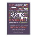 Couples Party Eggplant Announcement