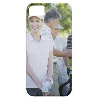 Couples preparing to play golf iPhone SE/5/5s case