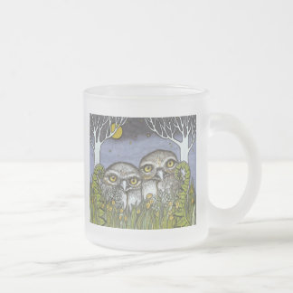 Couples Retreat Frosted Glass Coffee Mug