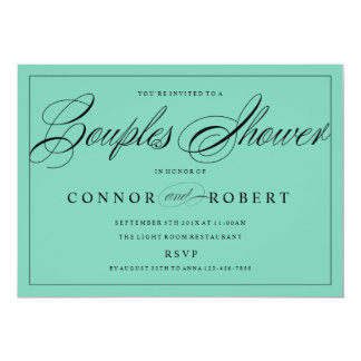 Gay wedding invitations announcements zazzle for Gay wedding shower invitations