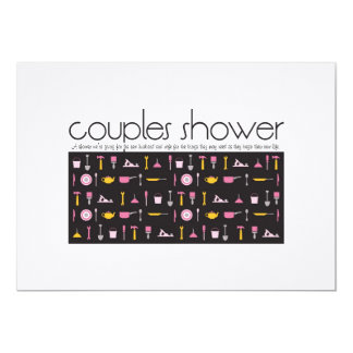Couples Shower Invitation - Kitchen and Tool