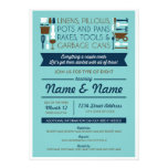 Couples Shower Invite (gifts for around the house) Personalized Announcement