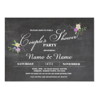 Couples Shower Party Engagement Wedding Invite