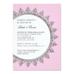 Couples Shower Vintage Classic Baroque Swirl Invite