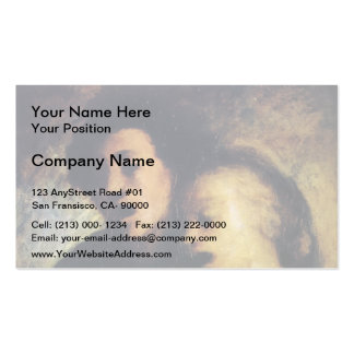 Couples Singers by Honore Daumier Business Card Templates