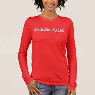 Couples Skate Long Sleeve T-Shirt