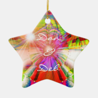 Couples Star Ornament
