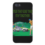 Couples That Golf Together Stay Together Cover For iPhone 5