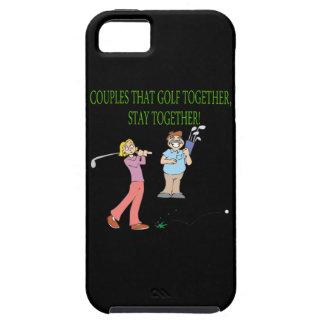 Couples That Golf Together Stay Together iPhone SE/5/5s Case