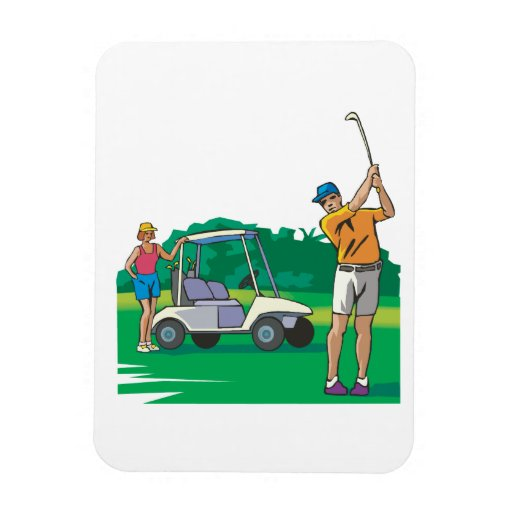 Couples That Golf Together Stay Together Magnets