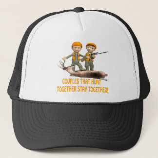 Couples That Hunt Together Stay Together Trucker Hat