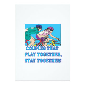 Couples That Play Together Card