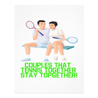 Couples That Tennis Together Flyer