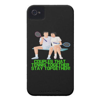 Couples That Tennis Together iPhone 4 Cover