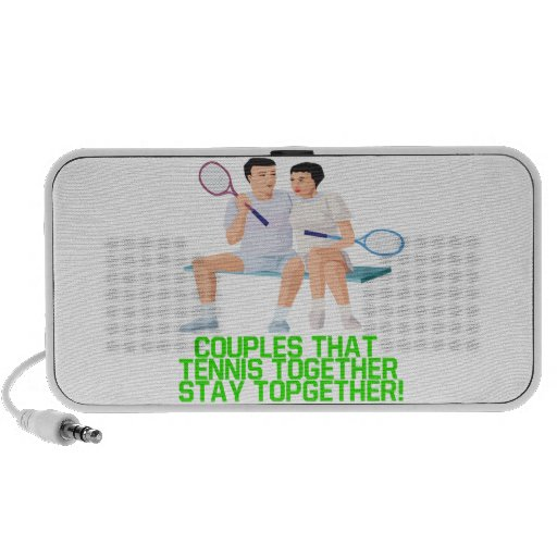 Couples That Tennis Together Speaker
