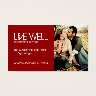 Couples Therapy | Match Maker Business Card