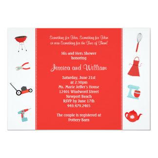 Couples Wedding Shower Invitation