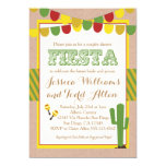 Couples Wedding Shower Invitation Fiesta