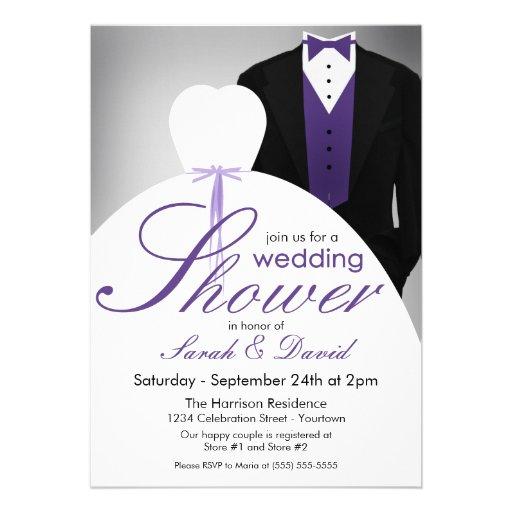 Couples Wedding Shower Invitations 5 Quot X 7 Quot Invitation Card Zazzle