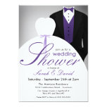 "Couples Wedding Shower Invitations 5"" X 7"" Invitation Card"