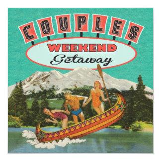 Weekend getaway invitations announcements zazzle for Weekend getaways in utah for couples