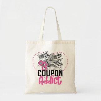 Coupon Addict Canvas Bag