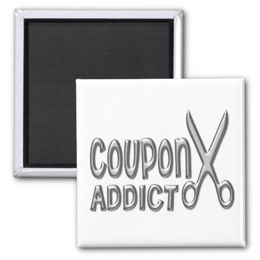 Coupon Addict Fridge Magnets