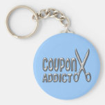 Coupon Addict Key Chain