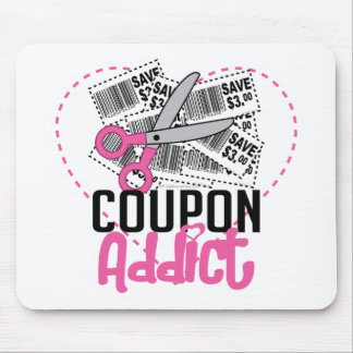 Coupon Addict Mouse Pad