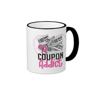 Coupon Addict Coffee Mugs