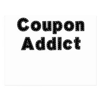 Coupon Addict.png Postcard