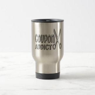 Coupon Addict Travel Mug