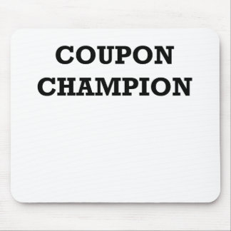 COUPON CHAMPION.png Mouse Pad