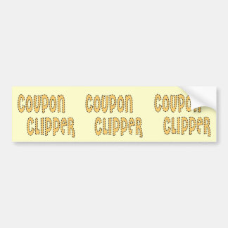 Coupon Clipper Bumper Sticker