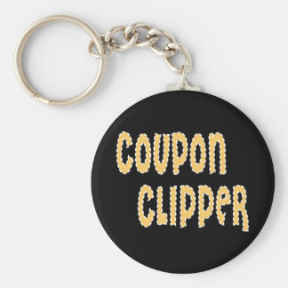 Coupon Clipper Keychain