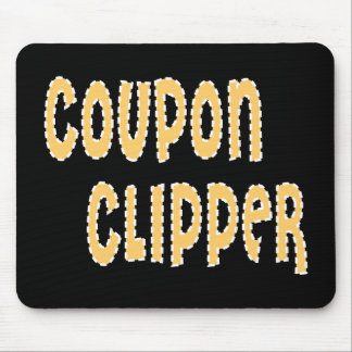 Coupon Clipper Mouse Pad
