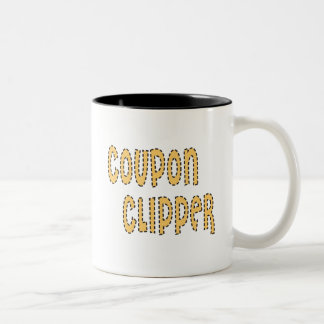 Coupon Clipper Two-Tone Coffee Mug