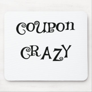 COUPON CRAZY.png Mouse Pad