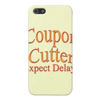 Coupon Cutter Expect Delays arc Case For iPhone SE/5/5s