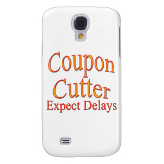 Coupon Cutter Expect Delays arc Samsung Galaxy S4 Case