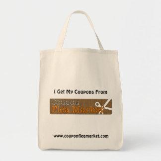 Coupon Flea Market Shopping Bag