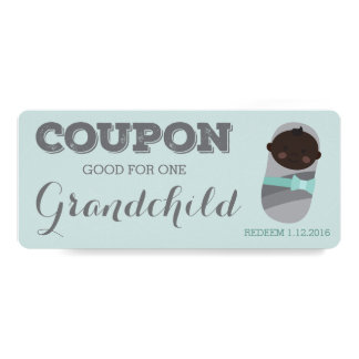 Coupon for Grandchild Pregnancy Announcement