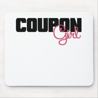 Coupon Girl.png Mouse Pad