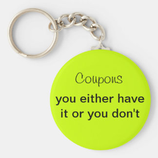 Coupon Keychains